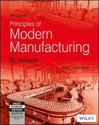 image of Fundamentals of Modern Manufacturing: Materials, Processes, and Systems (5th Ed.) By Mikell P. Groover (International Economy Edition)