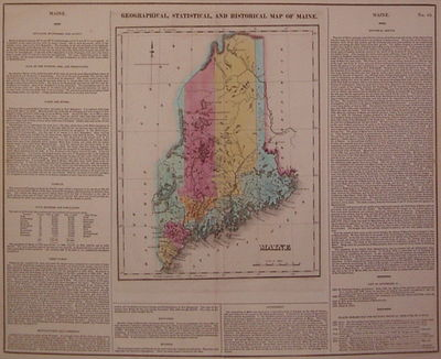 Philadelphia: Carey & Lea, 1822. unbound. very good(+). Map. Engraving with original hand coloring. ...