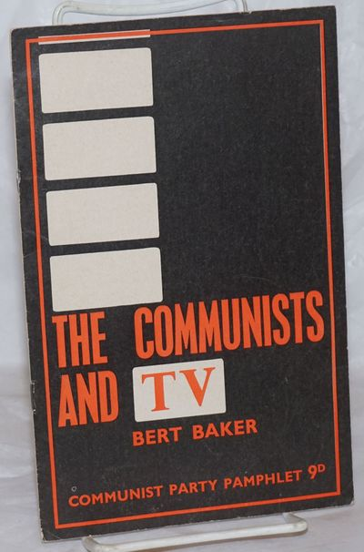 London: Communist Party, 1965. Pamphlet. 11, p., wraps, lightly toned else very good condition, 5.5x...