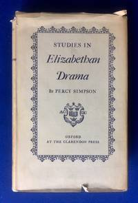 image of Studies in Elizabethan Drama