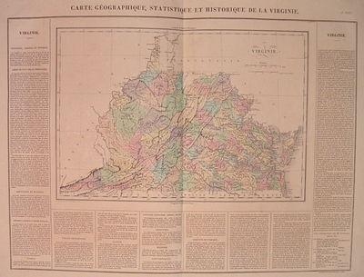 Paris: Buchon, Jean Alexandre, 1825. unbound. very good(+). Carez, J.. Map. Engraving with original ...