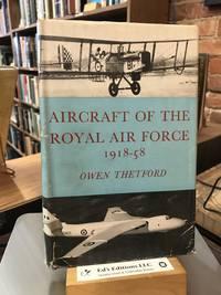 Aircraft of the Royal Air Force 1918-1958