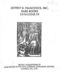 Catalogue 24/n.d.: Arts, Sciences, Humanism, History, Classics...