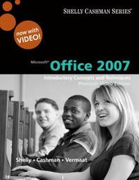 image of Microsoft Office 2007 : Introductory Concepts and Techniques