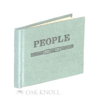 (Spartanburg, SC): Kitemaug Press, 1974. cloth, title stamped on front cover. Miniature Books. oblon...