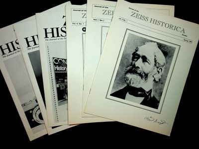 various: Zeiss Historica Society, 2006. First Edition. Wraps. Good. First Edition. Individual issues...