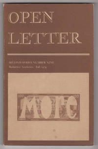 "Open Letter, Second Series, Number 9 (2/9, ""Reductive Aesthetics,"" Fall 1974)"