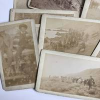 [Fourteen Cabinet Cards Depicting a Mexican Mining Expedition]