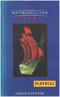 The Metropolitan Opera: Playbill (November 2000)