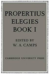 image of Propertius: Elegies Book I: Book 1: Bk.1