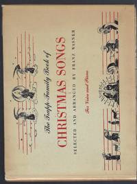 Trapp Family Book of Christmas Songs (Signed By Maria & 7 Children + Fr Wasner) 1950 Hardback + Original Christmas Card