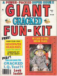 image of A Vintage Collectors Issue of Cracked Magazine from March 1981