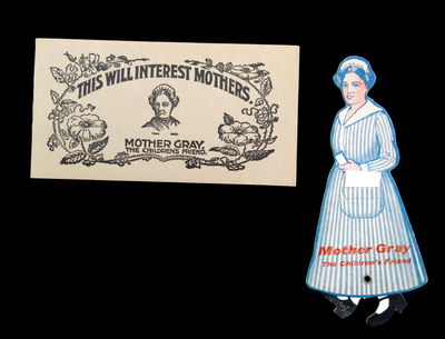 Chicago: J. B. Carroll Co , c1900. Minor toning due to age.. Two pieces of advertising materials for...