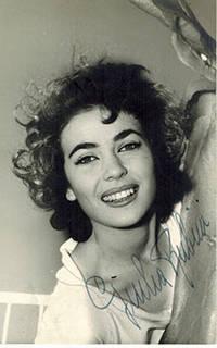 image of Photograph of Giulia Rubini. Signed