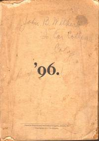 '96 by [J T Johnson] - Paperback - First Edition - 1896 - from Americana Books ABAA (SKU: 4325)
