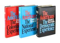 image of The Americans [Three Volume Set]: The Colonial Experience; The National Experience; The Democratic Experience