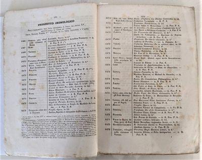 Milano: Co' Tipi di Giuseppe Chuisi and Co' Tipi di Luigi Nervetti, 1844. Two volumes in one. 8vo. 2...