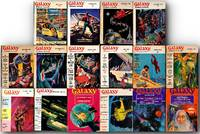 Galaxy Science Fiction (108 vintage magazines, 1951-76)