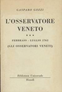 OSSERVATORE VENETO FEBBRAIO LUGLIO 1762