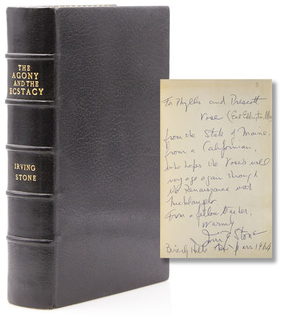 Garden City, New York: Doubleday, 1961. 664pp. 8vo. Bound in full black morocco, a.e.g., for Aspreys...
