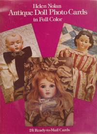 Antique Doll Photo Postcards in Full Color