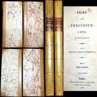 1817 PRIDE AND PREJUDICE JANE AUSTEN 3RD EDITION 2 VOLUME SET LEATHER ROMANCE LOVE CLASSIC