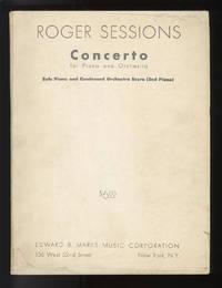 Concerto for Piano and Orchestra [Condensed score]. With composer's autograph inscription Solo Piano and Condensed Orchestra Score (2nd Piano)