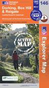 image of Dorking, Box Hill and Reigate (OS Explorer Map Active)