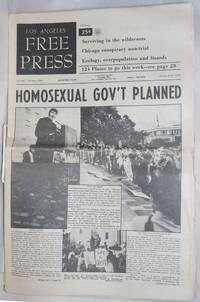Los Angeles Free Press Vol. 7, No. 2, issue #286, January 9-15; Homosexual Gov\'t Planned  [headline]