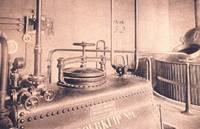 Ansichtkaart Brouwzaal van de voormalige brouwerij van het Seminarie van Hoogstraten (provincie Antwerpen)