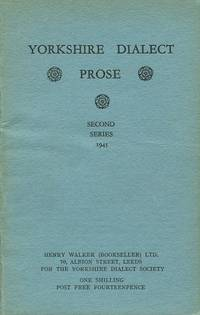 image of Yorkshire Dialect Prose : Second Series