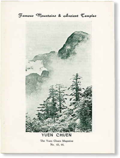 . First Edition. Octavo (21cm.); publisher's white pictorial wrappers; ,18pp.; photographic illus. t...