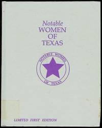 Notable Women of Texas 1984-1985