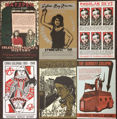 : Justseeds, printed by Stumptown Printers, 2009. poster. Ten different 11x17 inch posters celebrati...