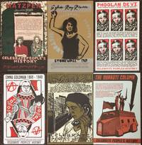 [Six different posters from the Celebrate People's History series]