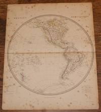 "Map of the Western Hemisphere - disbound sheet from 1857 ""University Atlas"