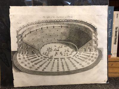 London: Thomas Bennet, John Nicholson, & Daniel Midwinter, 1705. A leaf and a plate: an engraving of...