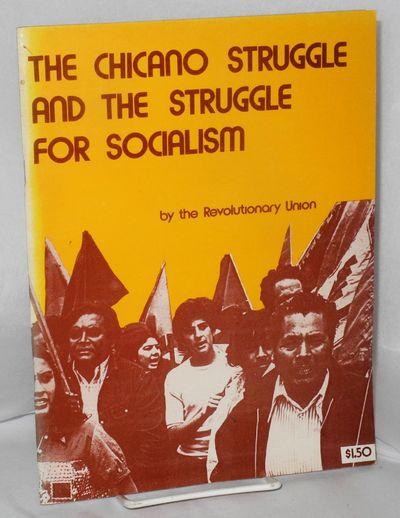 Chicago: Revolutionary Union, 1975. pm. 68p., stapled wraps, 8x10.5 inches, wraps slightly faded alo...