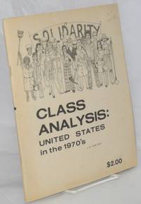 Class analysis: United States in the 1970's