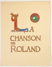 La Chanson de Roland, texte manuscrit d'Oxford enluminé par Paul G. Klein, préface par L. Réau