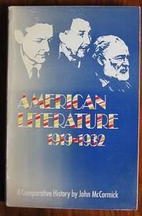 American Literature, 1919-32: A Comparative History.