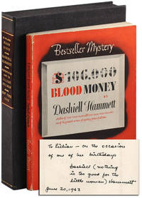 image of $106,000 BLOOD MONEY - INSCRIBED TO LILLIAN HELLMAN