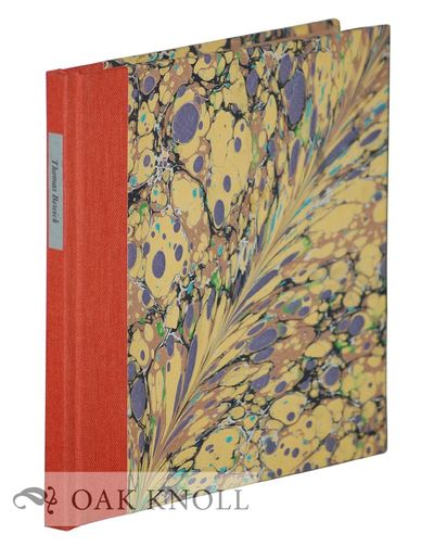 Upper Denby, England: The Fleece Press, 2015. quarter cloth, marbled paper-covered boards. Fleece Pr...
