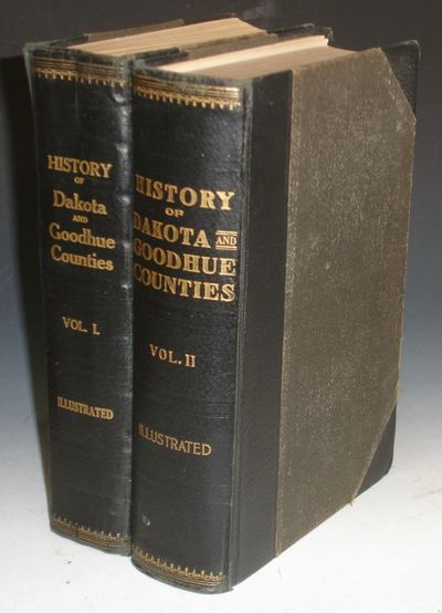 Chicago: H.C. Cooper, Jr., 1910. Quarto. vol. I has 662 pages with index devoted to Dakota county's ...