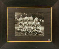 image of A vintage group portrait photograph of a South Australian women's hockey team