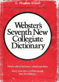 image of Webster's Seventh New Collegiate Dictionary A Merrian Webster