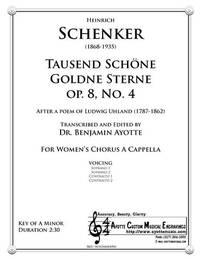 Tausend Schöne Goldene Sterne, Op. 8, No. 4