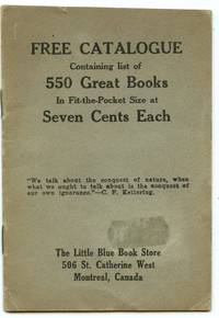 image of Complete List of Little Blue Books