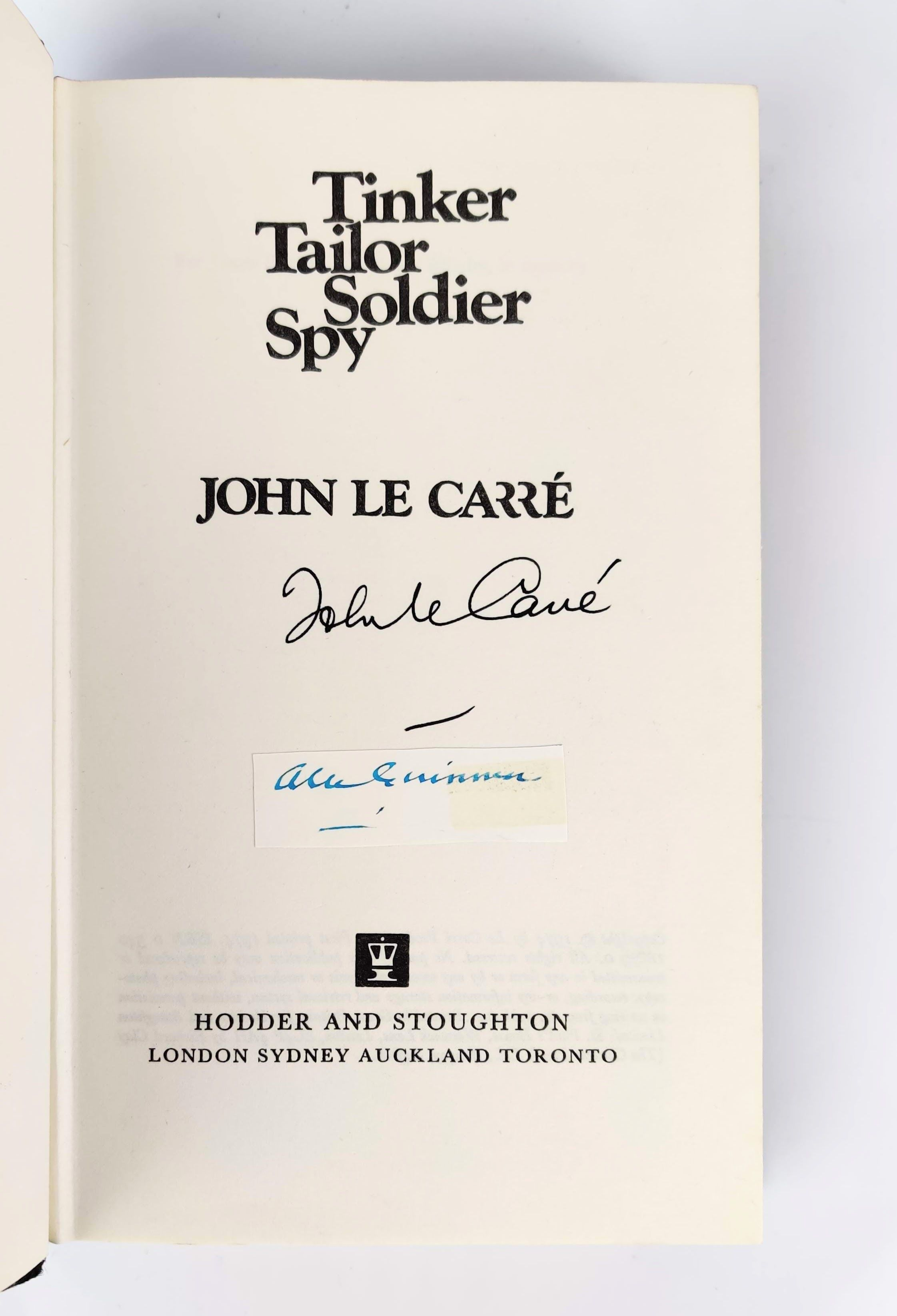 The Karla Trilogy: Tinker Tailor Soldier Spy, The Honourable Schoolboy, Smiley's People - All Signed by the Author (photo 7)