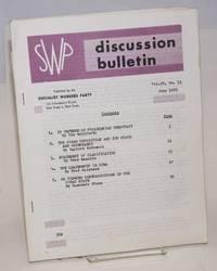 SWP discussion bulletin, vol. 22, no. 13, June 1961